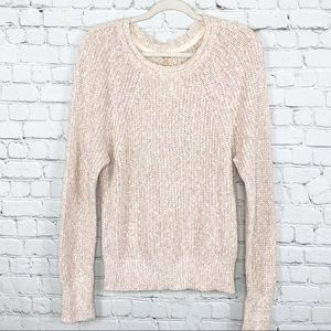 Free People Marled Electric City Sweater Size SM